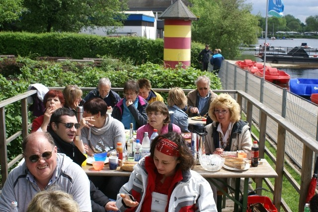 Grillen am Unterbacher See