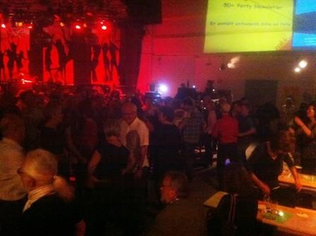 Ü50 Party im Zakk immer wieder ein Hit