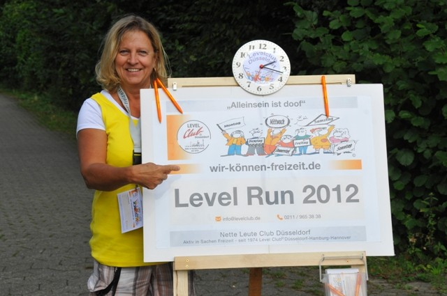 "Level Club Düsseldorf ""Run 2012"" ®"
