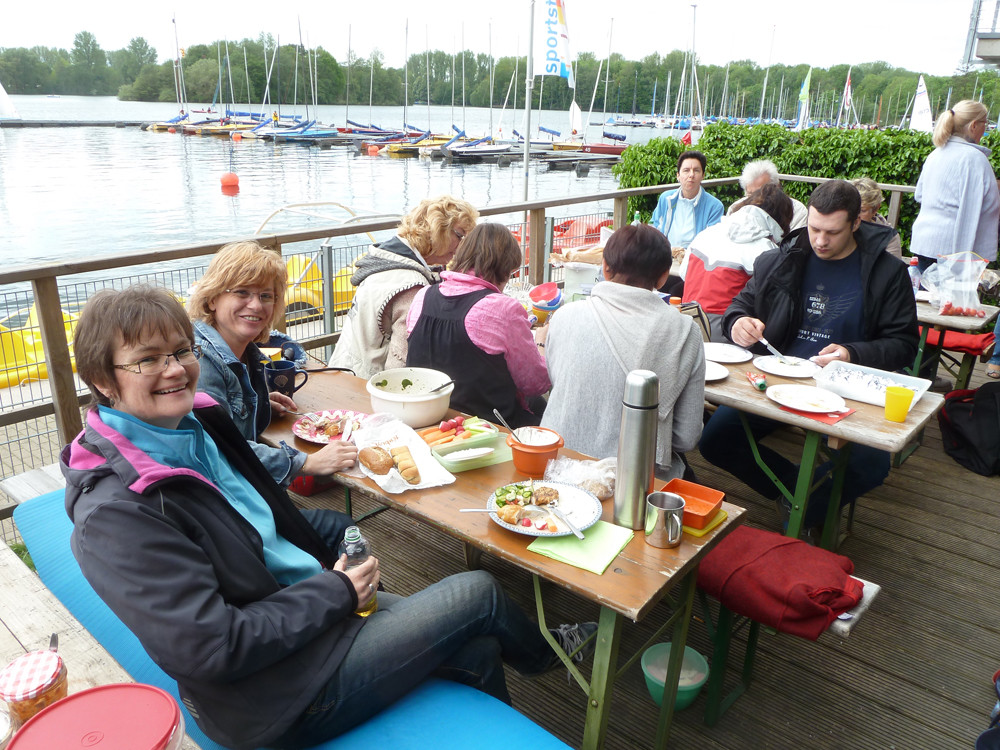 Grillsaison Eröffnung am Unterbacher See