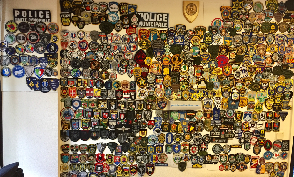 best way to display a patch collection
