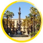 Barcelona, eine Stadt mit einem bedeutenden kulturellen Erbe bietet viele charmante Plätze zum Verweilen