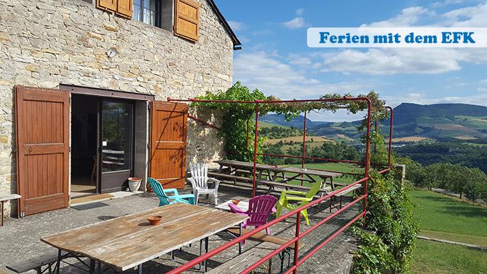 Gruppenhaus Tarn in Südfrankreich