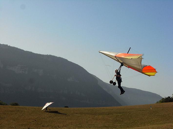 Drachenfliegen lernen in Südfrankreich