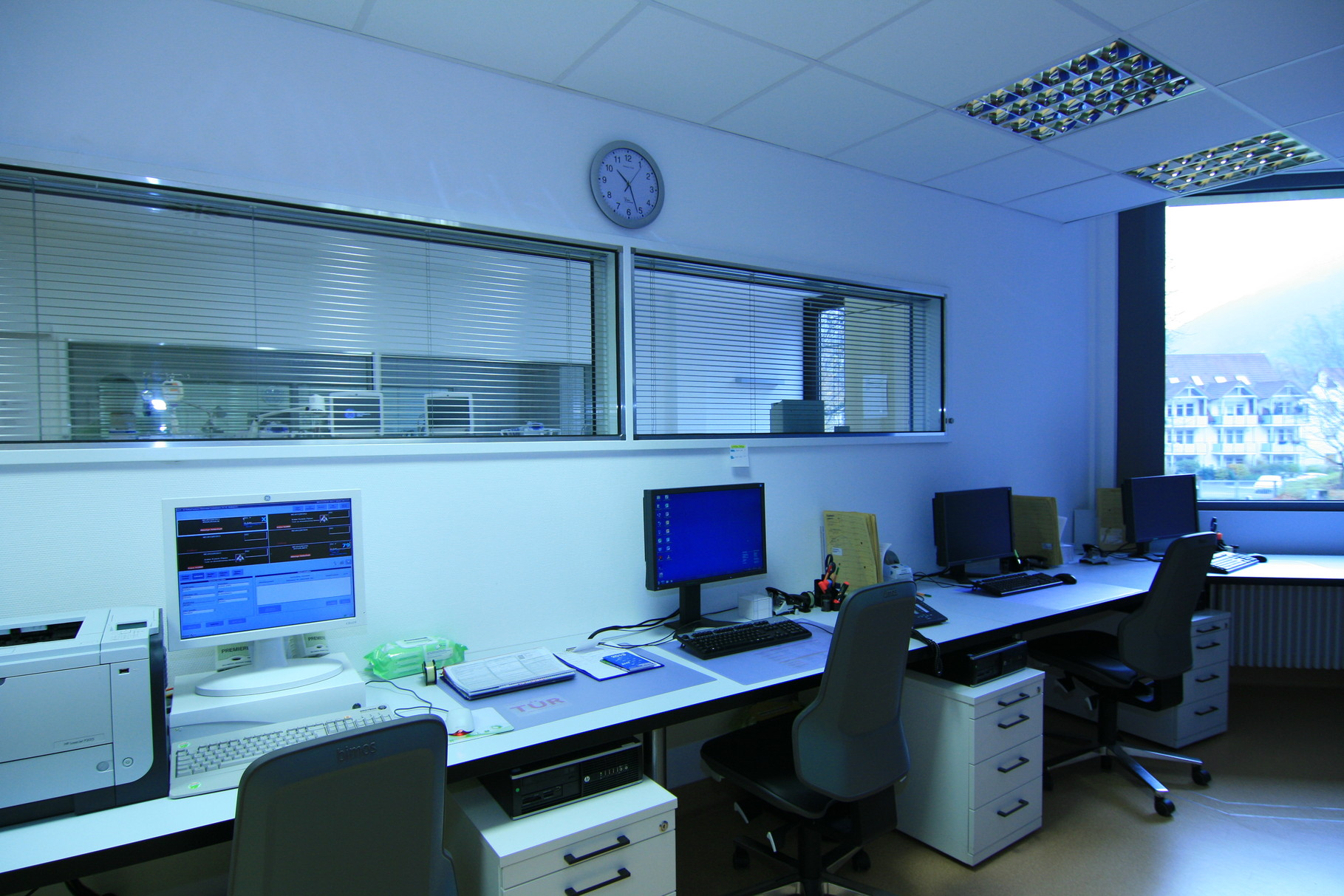 Bad Urach Reha Phase B - Dienstzimmer Überwachung