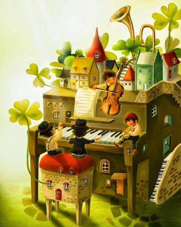 ピアノの鍵盤の形