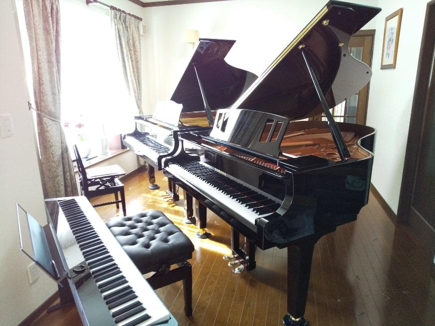 さいたま市中央区上落合(大宮区は教室のある通りの目の前)_バスティン_楽しいピアノ教室_RIKO音楽教室_レッスンの様子