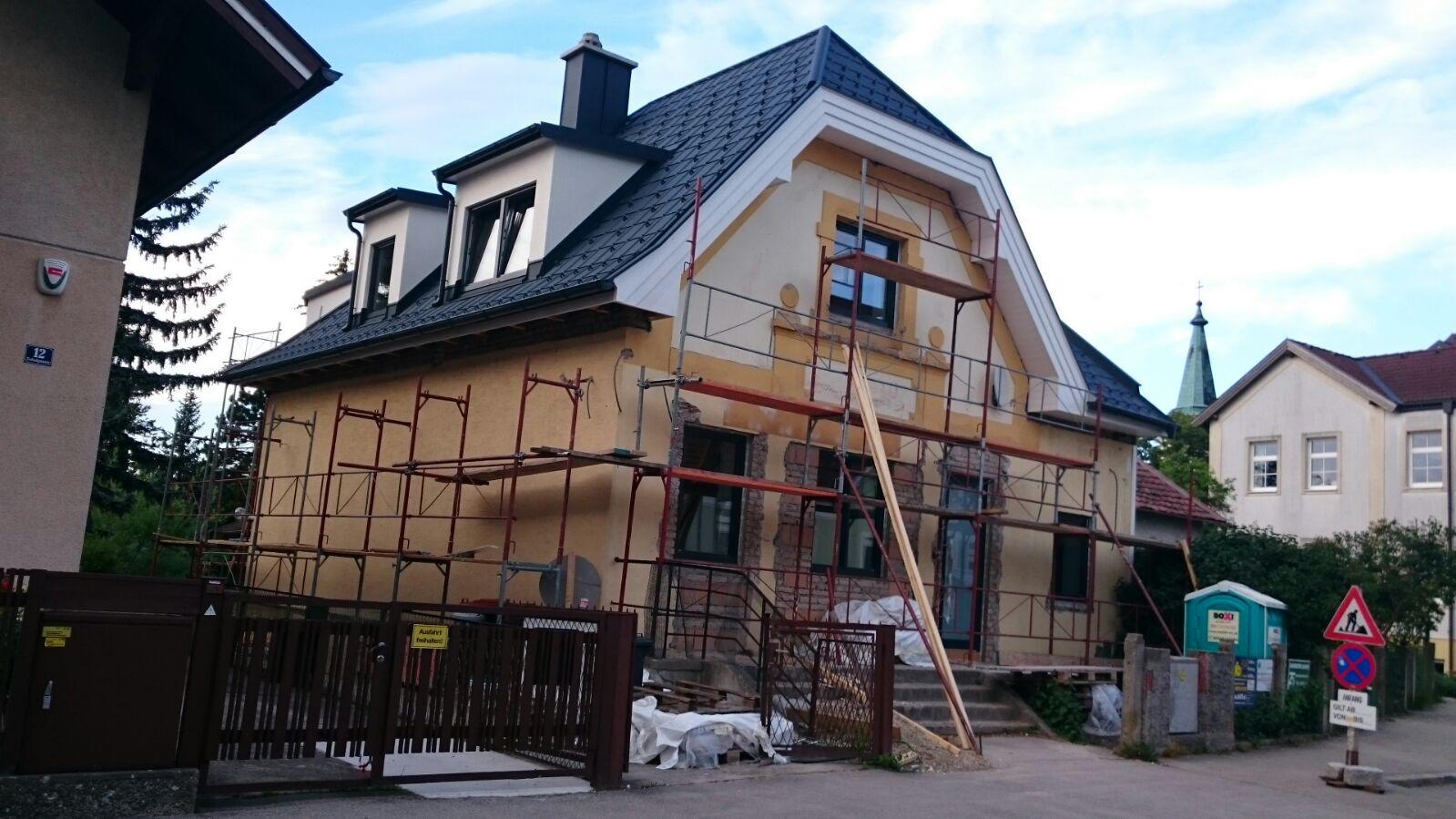 Umbau Zubau Zeiselmauer Mai 2017