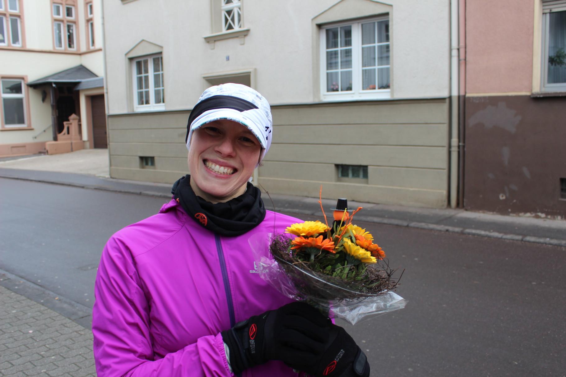 Blumen für Jessica ...