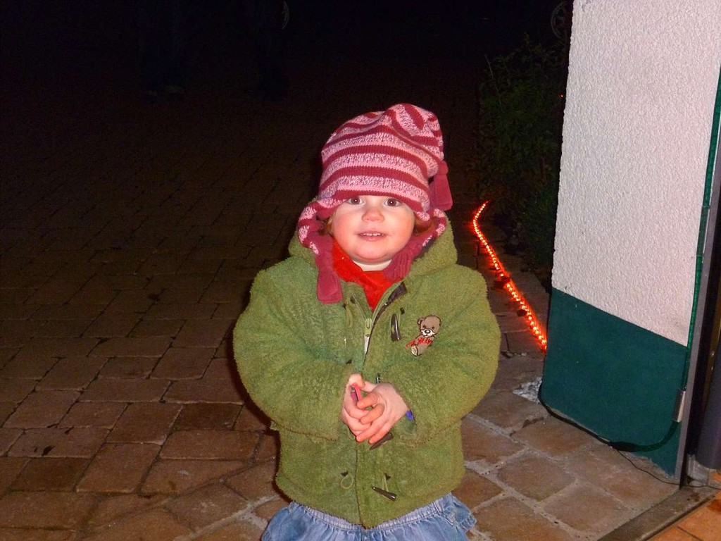 Wir sind glücklich, wenn Kinderaugen leuchten!