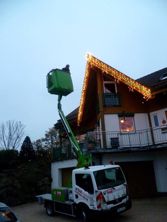 Ja, alle 1.462 Lichter sind an ihren Platz :-)