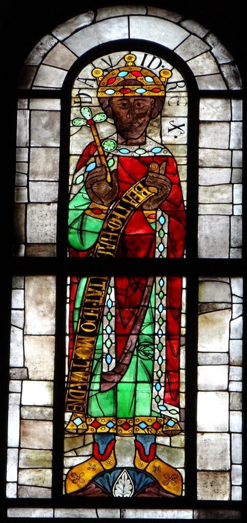 「ダビデ王」(12世紀)