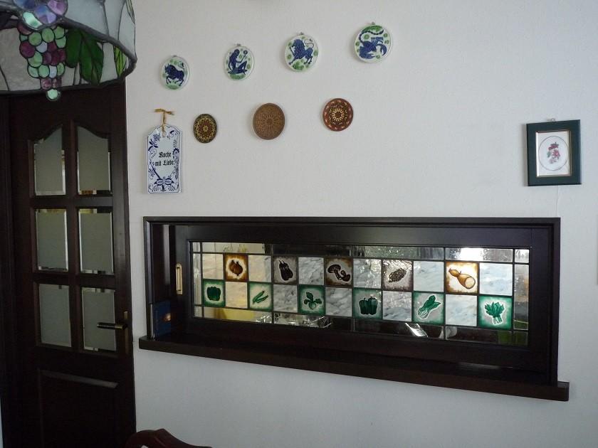 ダイニング・キッチン 仕切り壁