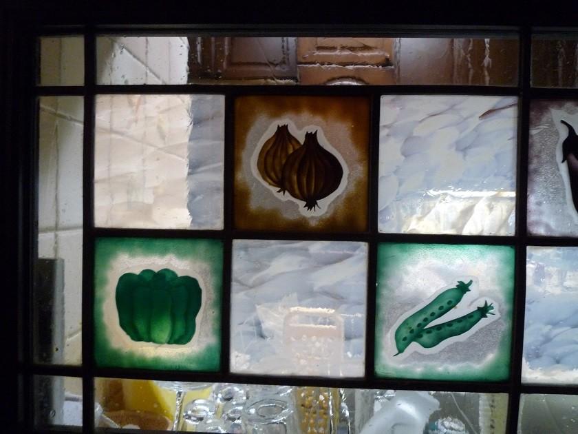 キッチン カウンター窓(部分)