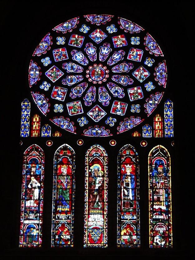 側面バラ窓(2)
