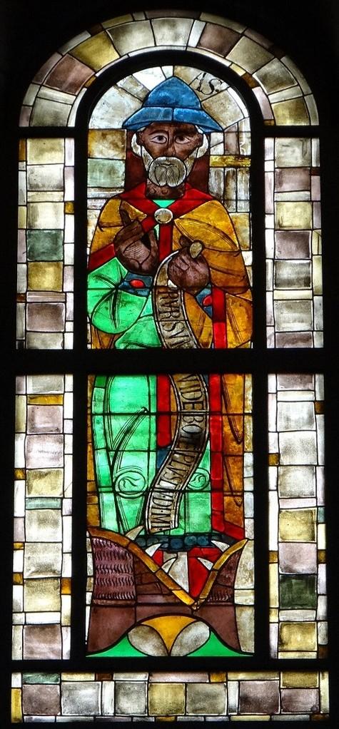 「預言者ヨナス」(12世紀の作品を一部後世に補修)