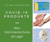 Abbildung Banner COVID-19 Produkte