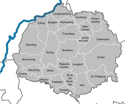 Fensterputzer Landkreis Erding
