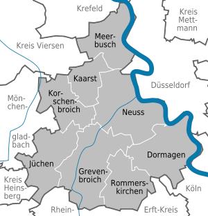 Fensterputzer Rhein-Kreis Neuss