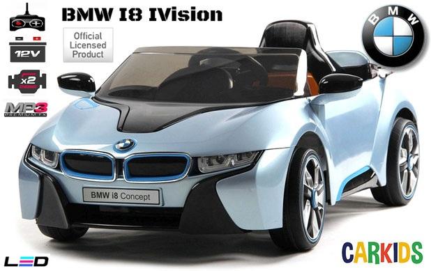 bmw i8 i vision bleu cr ateur de bonheur voitures lectriques pour b b s et. Black Bedroom Furniture Sets. Home Design Ideas