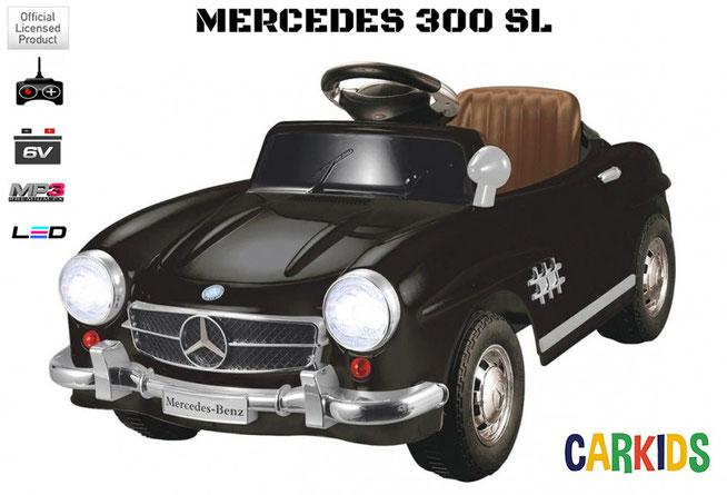 mercedes 300 sl noir enfant cr ateur de bonheur voitures lectriques pour. Black Bedroom Furniture Sets. Home Design Ideas