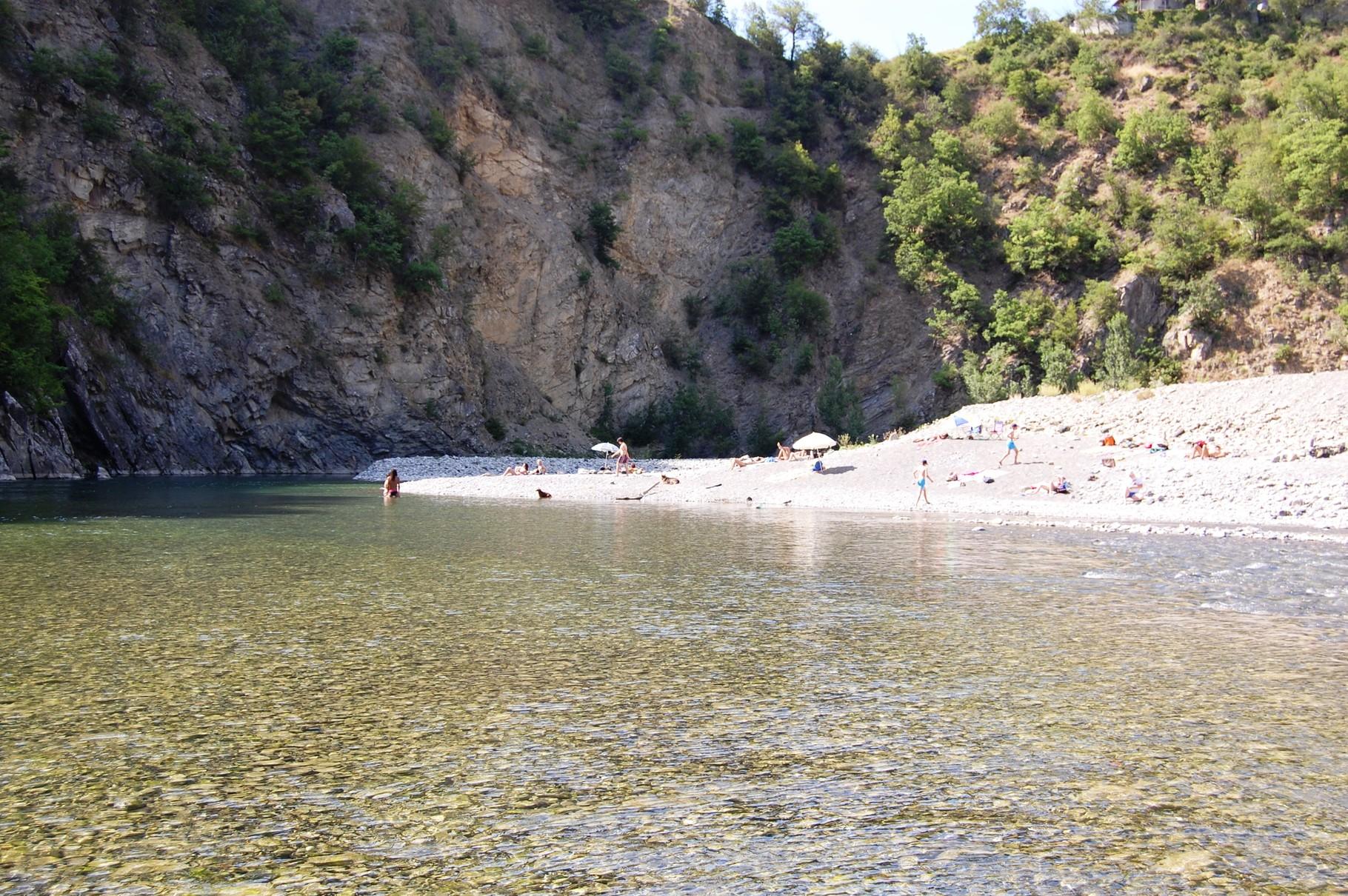 Spiaggia della Seconda Ansa
