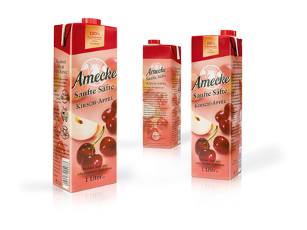 Amecke - Sanfte Säfte - Packaging  - Verpackung - Design - DesignKis - 2009