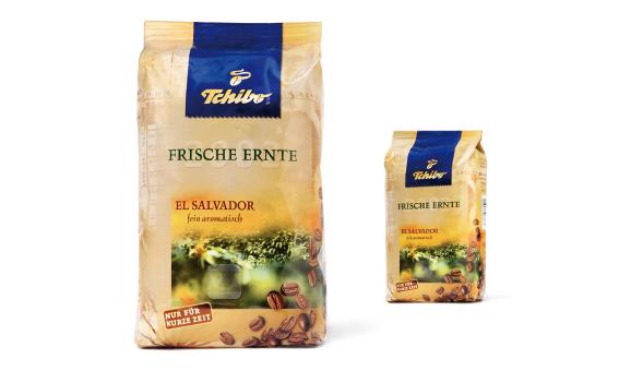 TCHIBO - Frische Ernte - neu - Design - Kaffee - Jahrgangskaffee - Packaging - Design - DesignKis - 2003 - Verpackung