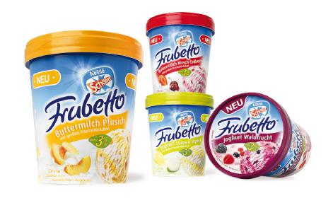 SCHÖLLER - Frubetto - leichter Genuss - Eis - Family Boxen - Packaging - Design - Entwicklung - DesignKis - 2007 - Verpackung