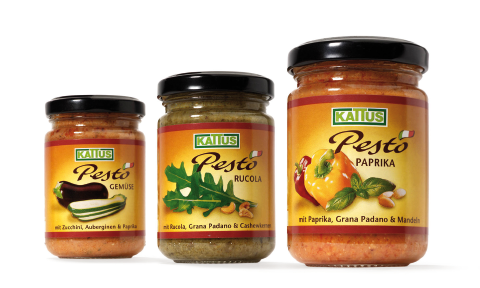 Kattus - Pesto - Design - Verpackung - Packaging - DesignKis - 2005