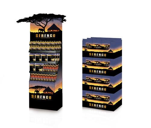 DELECo - Serengo - Displaygestaltung analog zum neuen Design der neumarkeneinführung - Retail Design - DesignKis - 2009