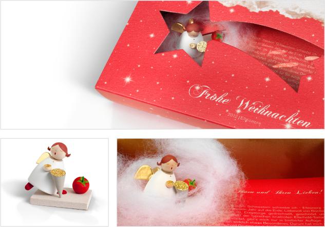 ELLERHOLD GRUPPE - Engel - Gestaltung und konzeptionelle Entwicklung eines Kundengeschenkes zu Weihnachten - DesignKis 2012