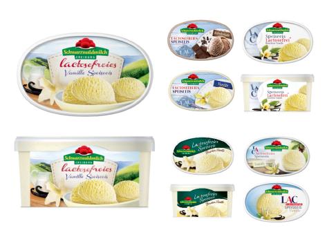 SCHWARZWALDMICH - Lactosefrei - Eis - Herkunft - Geschmack  - Genuss - Schwarzwald - Packaging - Design - DesignKis - 2013 - Verpackung