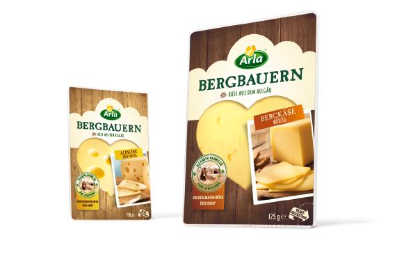 Arla - Bergbauern - Käse - Bergkäse - Alpkäse - DesignKis - Packaging - Design - 2014 - Verpackung