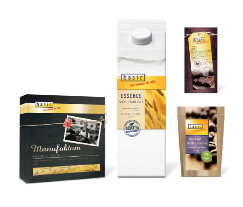 BASIC -Bio -  Layouts - Konzept - Packaging - Design - DesignKis - Verpackung
