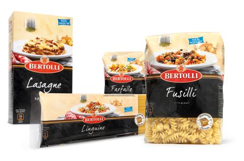 Bertoli - Pasta - Nudeln - Lasagne - Fusili - Liguine - italienische Küche - Packaging - Design - DesignKis - 2010 - Verpackung