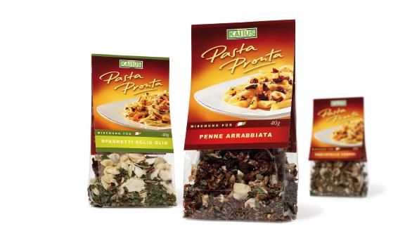 Kattus - Pasta Pronta - italienisch - Sauce - Pasta - Deisgn - Verpackung - Packaging - DesignKis - 2006