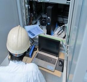 負荷遮断 前後発電電圧の測定