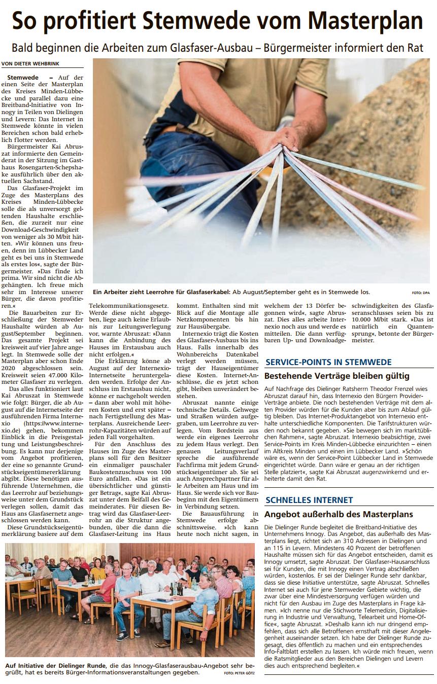 Diepholzer Kreisblatt vom 11.07.2019