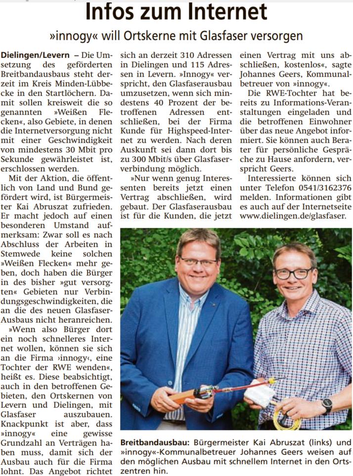 Diepholzer Kreisblatt vom 06.07.2019