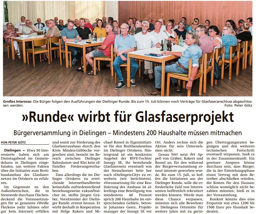 Diepholzer Kreisblatt vom 27.06.2019