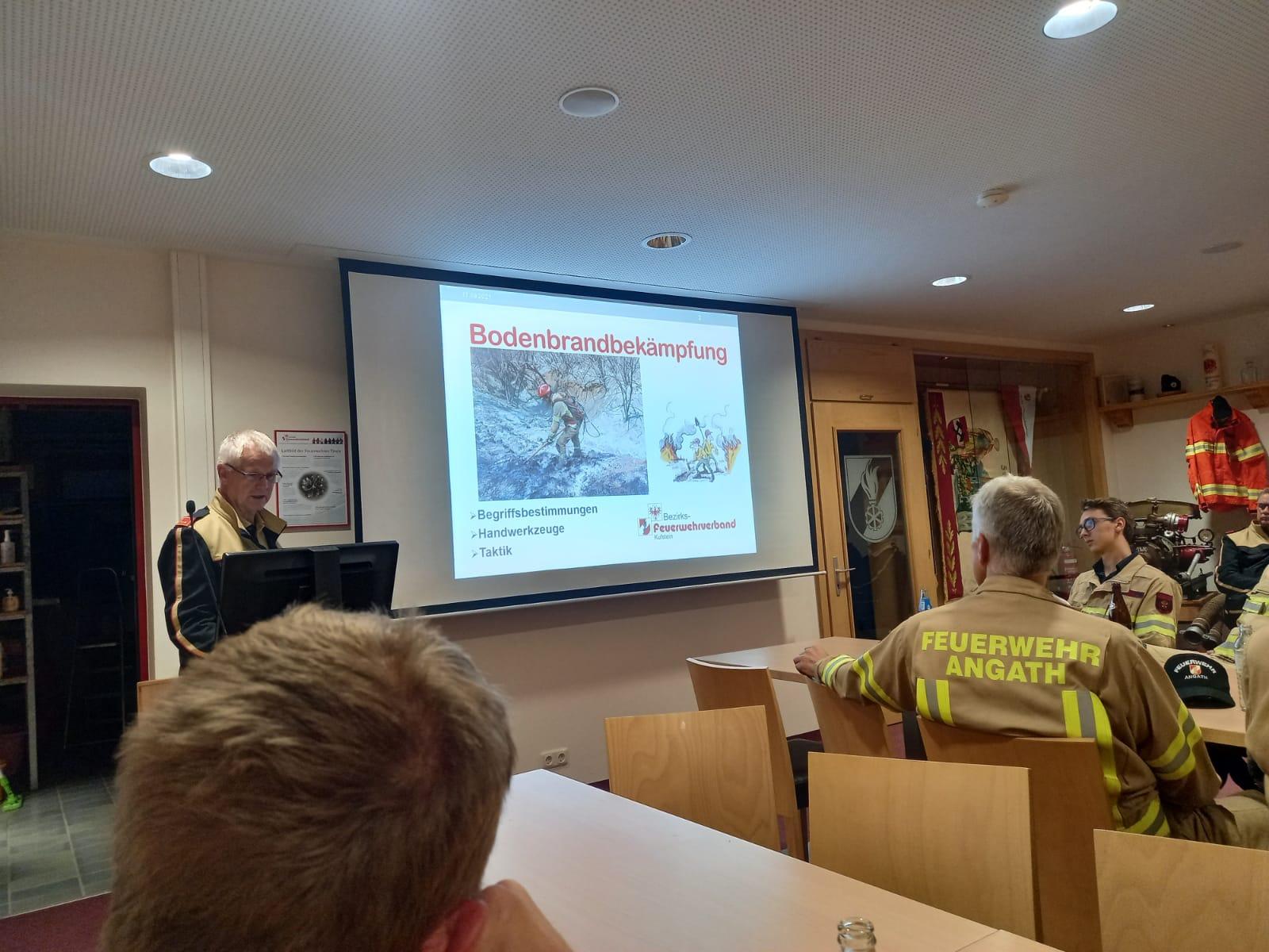 Workshop-Waldbrandbekämpfung