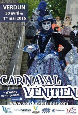 Animations escrime artistique Carnaval de Verdun 30 avril 2016