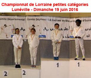 Retrouvez les photos du Championnat de Lorraine petites catégories à Lunéville