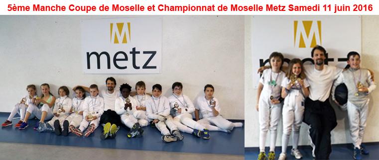 Retrouvez les photos du championnat de Moselle petites catégories à Metz