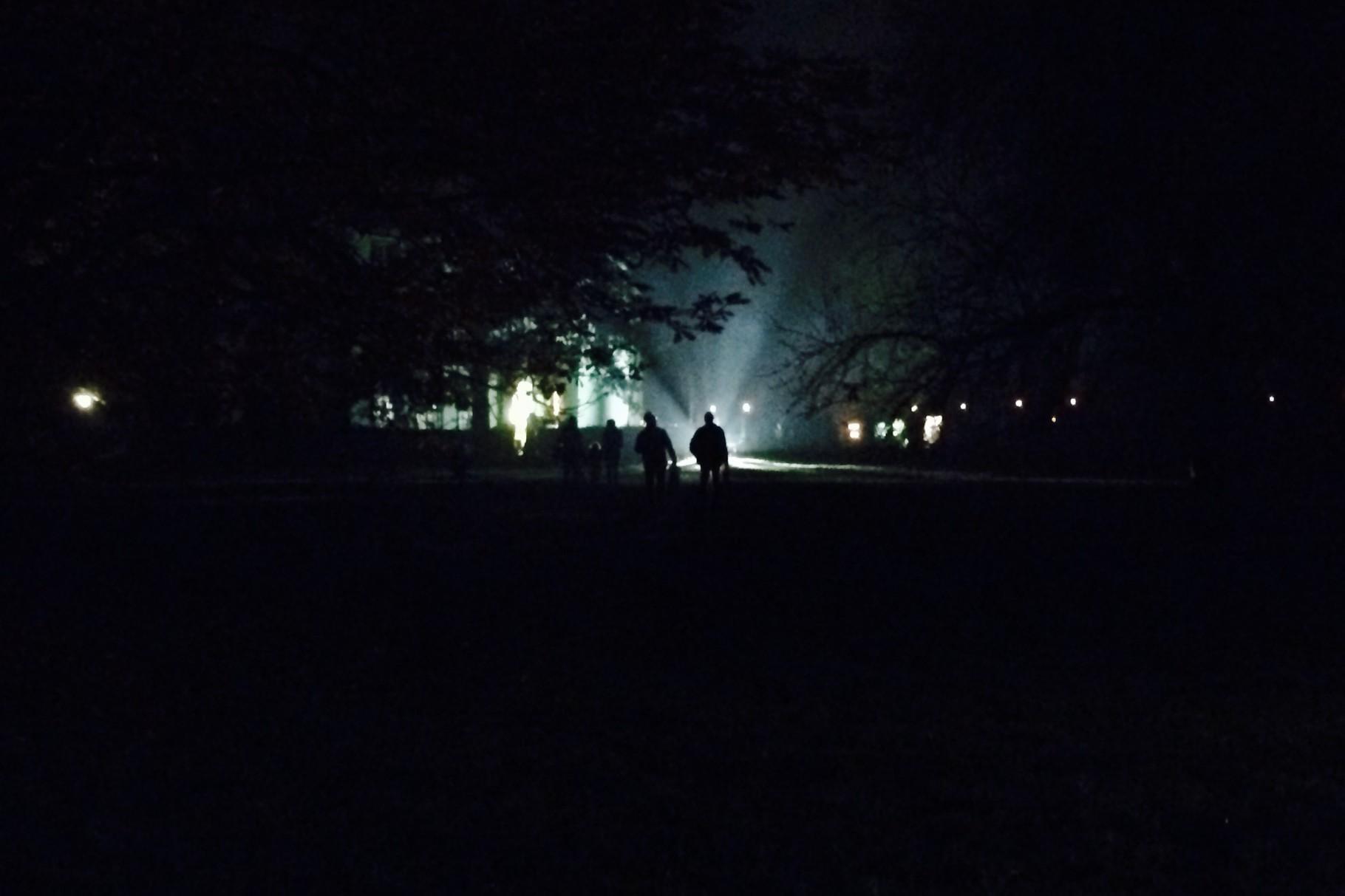 les gardes dans la nuit