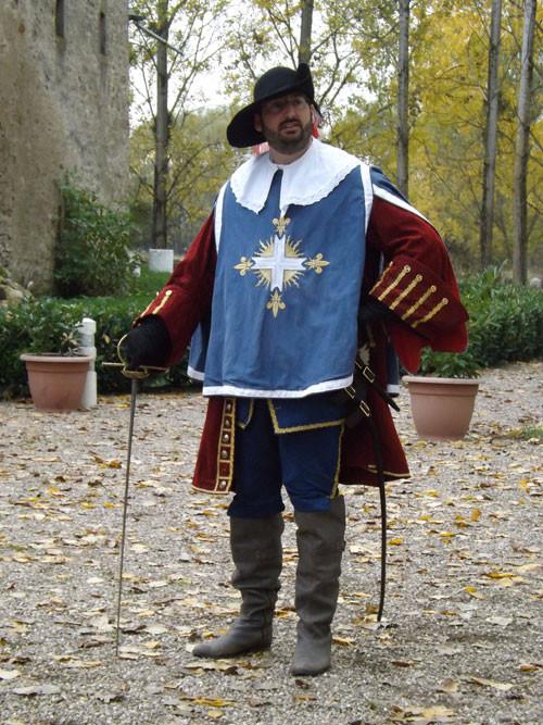un mousquetaire au château sainte-sixte de Freistroff