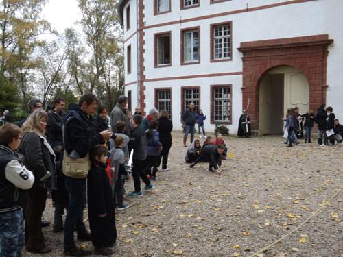 le public a répondu présent pour le festival des rommelbootzen