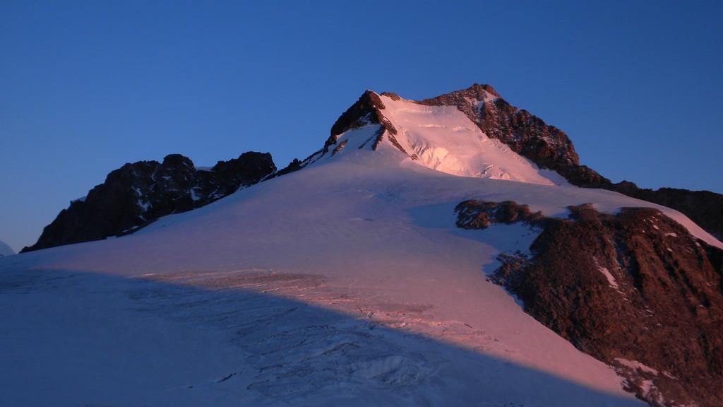 Piz Bernina im Morgenlicht
