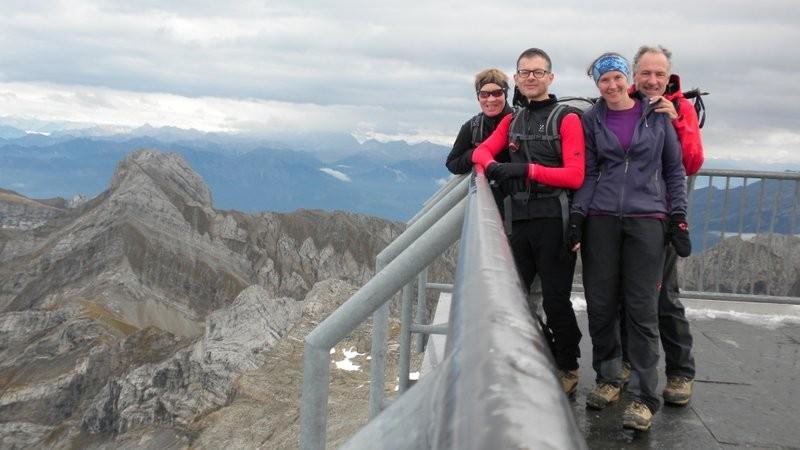 Gipfelerfolg auf dem Säntis